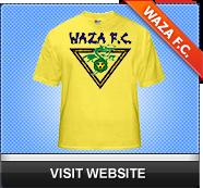 Waza FC Soccer Club Soccer Jersey