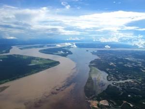 Rio Negro & Solimoes River Meet
