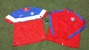 2014 World Cup United States Away Jerseys
